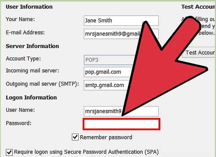 5b3b3fb318bec تغییر رمز عبور حساب های متصل outlook irnab ir تغییر رمز عبور حساب های متصل به Outlook