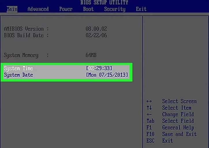 5b3de07c6679f تغییر تنظیمات bios کامپیوتر irnab ir تغییر تنظیمات BIOS کامپیوتر