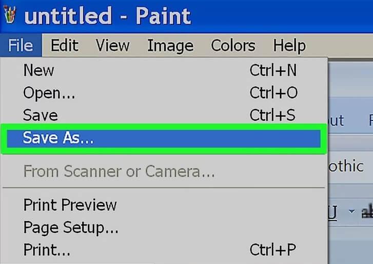5b41ccdc68e0d تغییر فرمت word jpeg ویندوز xp vista irnab ir تغییر فرمت Word به JPEG در ویندوز (XP و Vista )