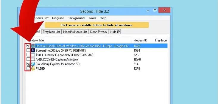 5b45b07653e07 ی پنجره ها را با second hide پنهان کنیم irnab ir چگونه همه ی پنجره ها را با Second Hide پنهان کنیم؟