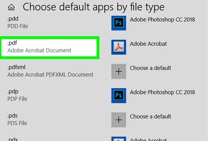 5b4adc1f59fe2 استفاده تنظیمات پیش فرض برنامه adobe acrobat reader irnab ir استفاده از تنظیمات پیش فرض برنامه Adobe Acrobat Reader را به عنوان برنامه PDF پیش فرض