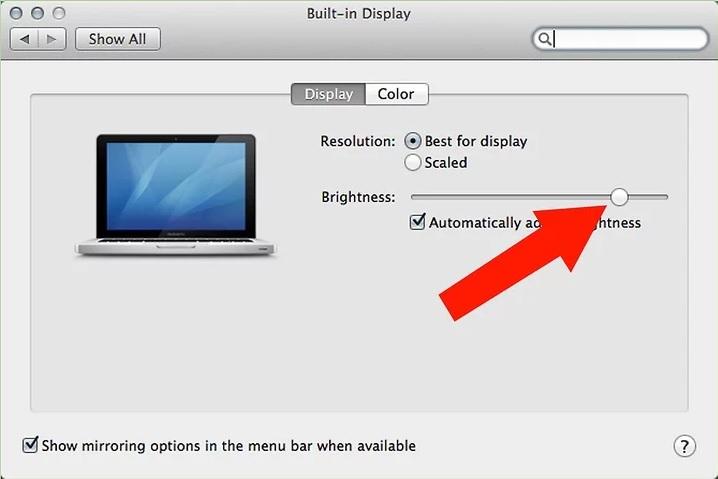 5b5c08568d500 نحوه تنظیم روشنایی صفحه macbook irnab ir نحوه تنظیم روشنایی صفحه MacBook