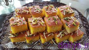 tarztahiye keykbaghlava irnab ir طرز تهیه کیک باقلوا