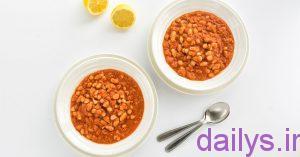 tarztahiye khoraklobiyachiti irnab ir طرز تهیه خوراک لوبیا چیتی