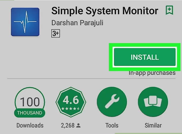 بررسی حافظه ی ram اندروید با استفاده از simple system m irnab ir بررسی حافظه ی RAM اندروید با استفاده از Simple System Monitor