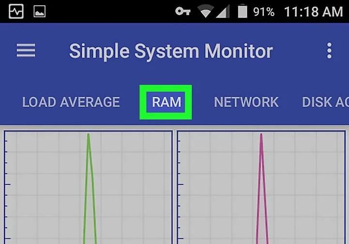 5bc3033a4ab23 بررسی حافظه ی ram اندروید با استفاده از simple system m irnab ir بررسی حافظه ی RAM اندروید با استفاده از Simple System Monitor