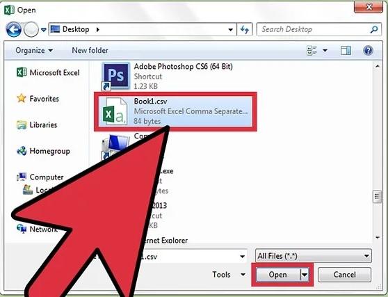 5bd56431048fa نحوه باز کردن فایل های csvاز طریق microsoft excel irnab ir نحوه باز کردن فایل های CSVاز طریق Microsoft Excel