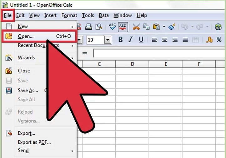 5bd56a7261e86 نحوه باز کردن فایل های csvاز طریق openoffice calc irnab ir نحوه باز کردن فایل های CSVاز طریق OpenOffice Calc