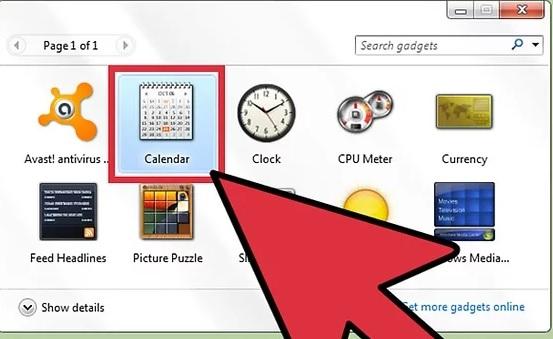 5bd58bb069993 نحوه ی افزودن تقویم به صفحه ی دسکتاپ وین irnab ir نحوه ی افزودن تقویم به صفحه ی دسکتاپ ویندوز ویستا و 7