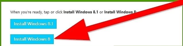 نحوه ارتقا به ویندوز 8 با استفاده از کد م irnab ir نحوه ارتقا به ویندوز 8 با استفاده از کد محصول