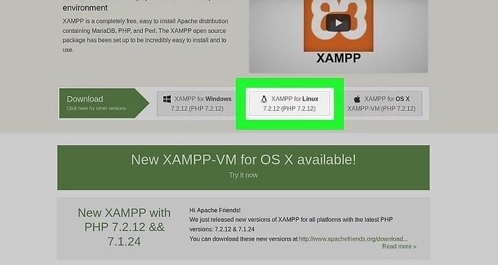 نحوه نصب xampp در لینوکس irnab ir نحوه نصب XAMPP در لینوکس