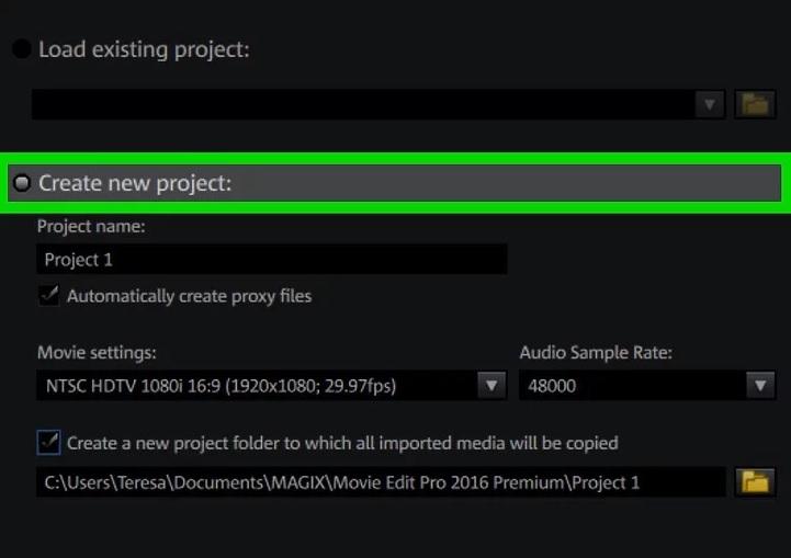 نحوه ی استفاده از magix movie edit pro 2016 irnab ir نحوه ی استفاده از MAGIX Movie Edit Pro 2016