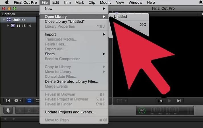 نحوه ی حذف یک جلوه ی افزودنی از ویدئو با irnab ir نحوه ی حذف یک جلوه ی افزودنی از ویدئو با استفاده از Final Cut Pro