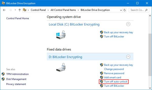 نحوه ی خاموش کردن bitlocker با استفاده از تنظیم irnab ir نحوه ی خاموش کردن BitLocker با استفاده از تنظیمات ویندوز