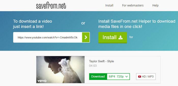 نحوه ی ذخیره ی یک ویدئو با استفاده از savefrom net irnab ir نحوه ی ذخیره ی یک ویدئو با استفاده از Savefrom.net