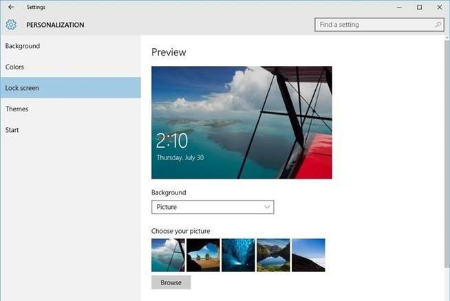 نحوه ی فعال کردن quick status lock screen apps در ویندوز 10 irnab ir نحوه ی فعال کردن Quick Status Lock Screen Apps در ویندوز 10