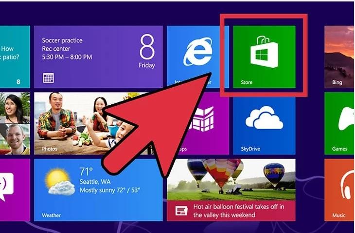 نحوه ی نصب برنامه ها در ویندوز 8 irnab ir نحوه ی نصب برنامه ها در ویندوز 8