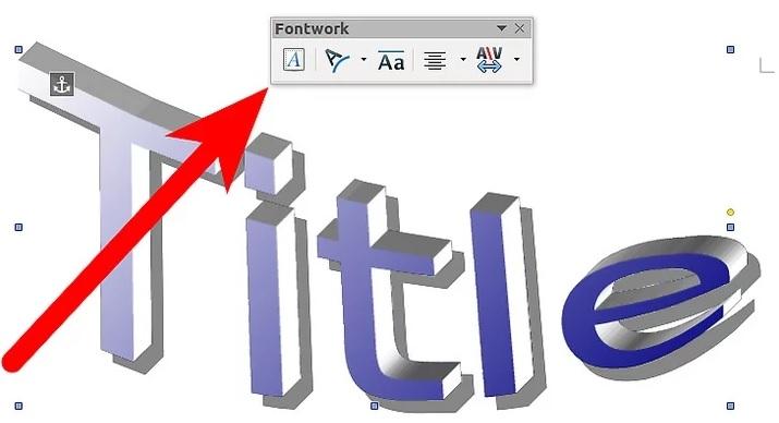 نحوه ی ویرایش متن fontwork irnab ir نحوه ی ویرایش متن Fontwork