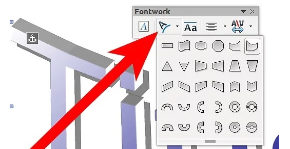 5bd95a1f95763 نحوه ی ویرایش متن fontwork irnab ir نحوه ی ویرایش متن Fontwork