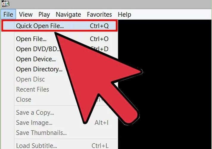 5be693cd94d0a نحوه ی باز کردن فایل های vob با استفاده از mpc hc irnab ir نحوه ی باز کردن فایل های VOB با استفاده از MPC HC (در سیستم ویندوز)