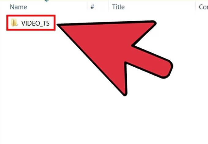 5be7d2542364f نحوه ی رایت کردن فایل های vob در dvd irnab ir نحوه ی رایت کردن فایل های VOB در DVD