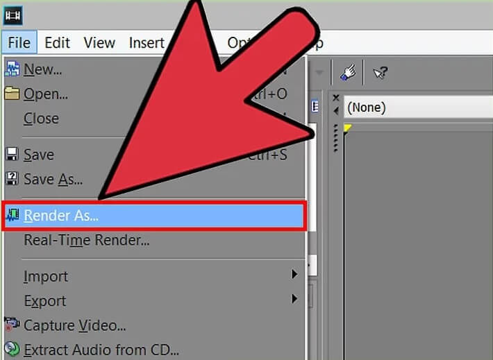 5bea793b716df نحوه تغییر سرعت ویدئو در sony vegas pro irnab ir نحوه تغییر سرعت ویدئو در Sony Vegas Pro