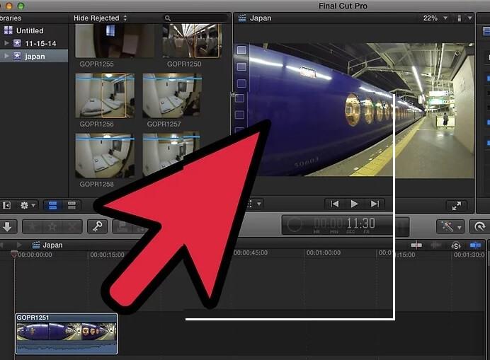 5bea9693d3d09 نحوه ی حذف یک جلوه ی افزودنی از ویدئو با irnab ir نحوه ی حذف یک جلوه ی افزودنی از ویدئو با استفاده از Final Cut Pro