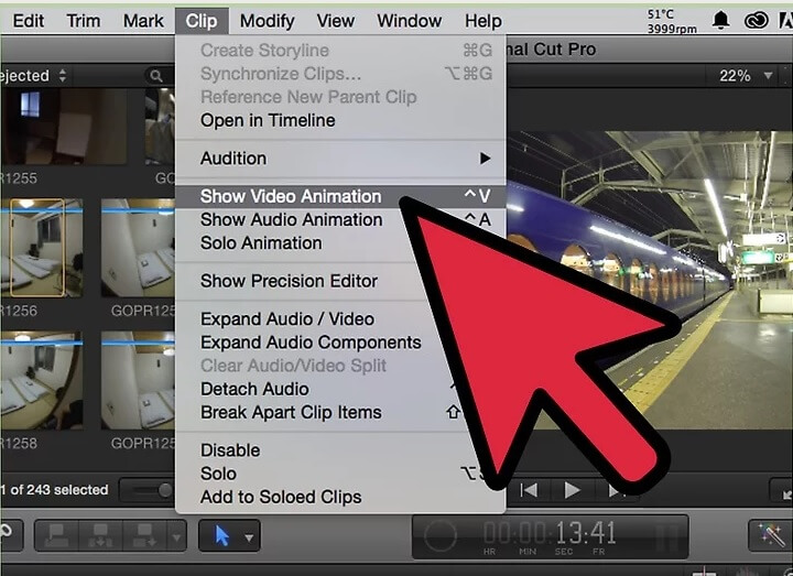 5bea969ae7244 نحوه ی حذف یک جلوه ی افزودنی از ویدئو با irnab ir نحوه ی حذف یک جلوه ی افزودنی از ویدئو با استفاده از Final Cut Pro