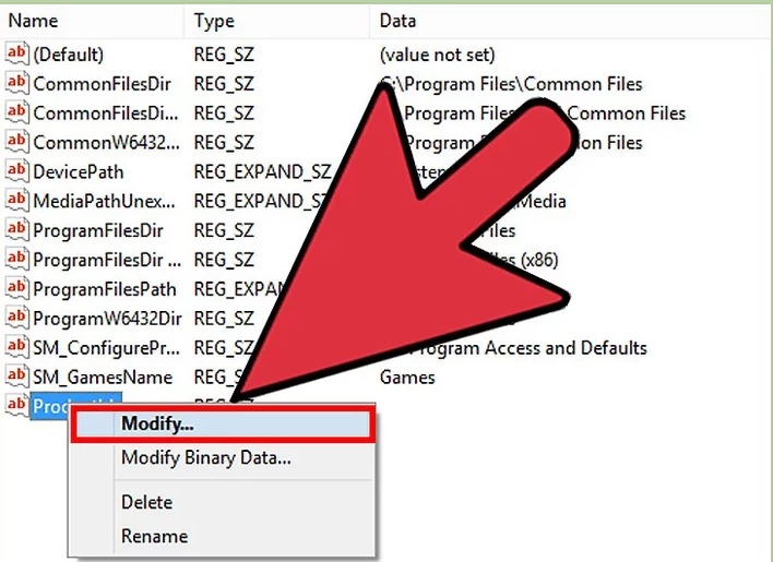 5bf3bbcc104b0 نحوه ی پیدا کردن کد محصول ویندوز 8 از طری irnab ir نحوه ی پیدا کردن کد محصول ویندوز 8 از طریق جستجو در رجیستری