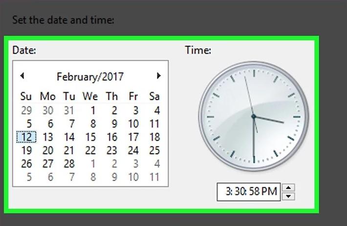 5bf536689dc30 نحوه رفع مشکلات دانلود microsoft store از طریق ت irnab ir نحوه رفع مشکلات دانلود Microsoft Store از طریق تغییر تنظیمات تاریخ و زمان