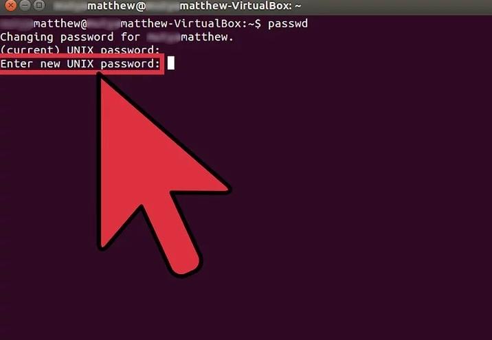 5bfe3140a21b0 نحوه ی تغییر دادن رمز عبور سیستم لینوکس irnab ir نحوه ی تغییر دادن رمز عبور سیستم لینوکس با استفاده از Terminal