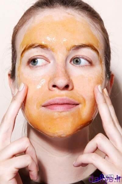 5c6a8df2e9331 darman lake sorat ba asal irnab ir درمان لک صورت با عسل