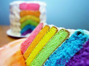 tarztahiye keykranghinkaman irnab ir طرز تهیه کیک رنگین کمان