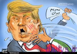 karikator teramp irnab ir کاریکاتور ترامپ