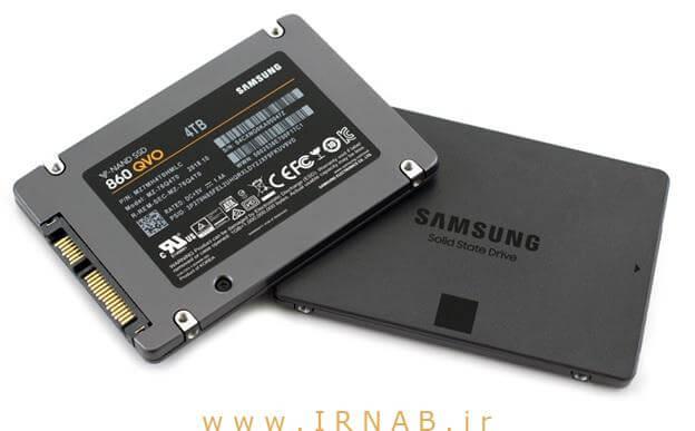 irnab.ir 22 عرضه ظرفیت های ذخیره ساز چند ترابیتی با قیمت مناسب توسط شرکت سامسونگ در مدل اس اس دی 860 QVO